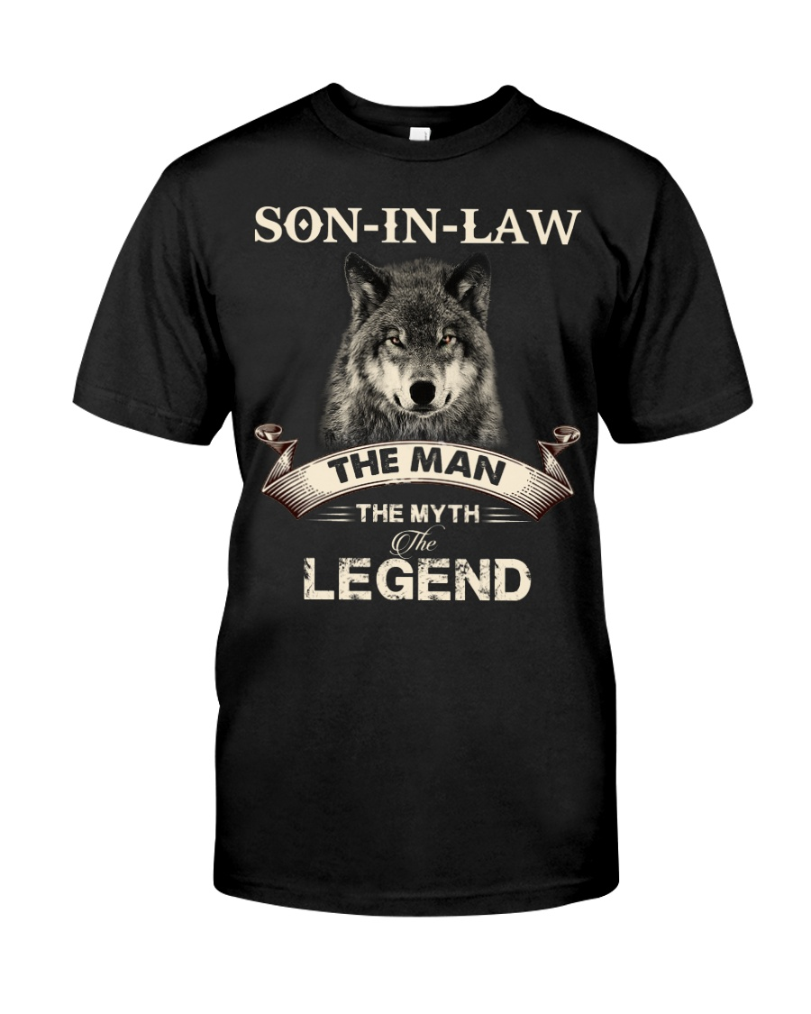 SON-IN-LAW - WOLF - THE MAN THE MYTH THE LEGEND Classic T-Shirt