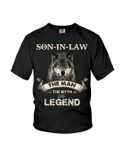 SON-IN-LAW - WOLF - THE MAN THE MYTH THE LEGEND Youth T-Shirt thumbnail