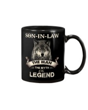 SON-IN-LAW - WOLF - THE MAN THE MYTH THE LEGEND Mug thumbnail