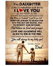 To Daughter - Always Remember How Much - Canvas Vertical Poster tile