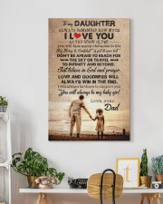 To Daughter - Always Remember How Much - Canvas 20x30 Gallery Wrapped Canvas Prints aos-canvas-pgw-20x30-lifestyle-front-03