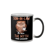 SON-IN-LAW - OWL - THE MAN THE MYTH THE LEGEND Color Changing Mug thumbnail