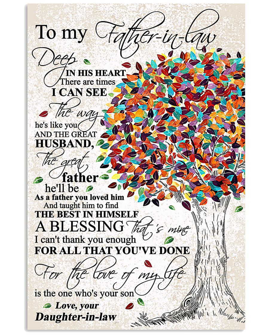 DAUGHTER TO FATHER-IN-LAW 16x24 Poster