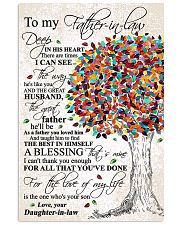 DAUGHTER TO FATHER-IN-LAW 16x24 Poster front
