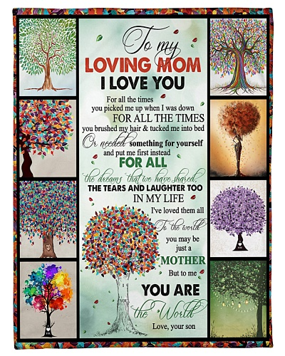 TO MY MOM - TREE - MY LOVING MOM