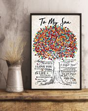 DAD TO SON 16x24 Poster lifestyle-poster-3