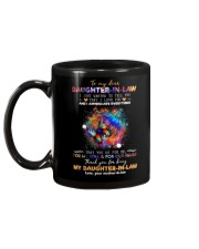 To My Daughter-in-law - Butterfly - I Love You  Mug back