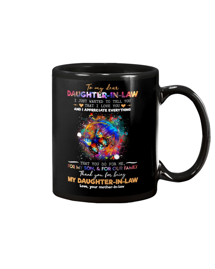 To My Daughter-in-law - Butterfly - I Love You  Mug