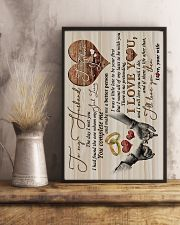 TO MY HUSBAND - HAND IN HAND - THE DAY I MET YOU 16x24 Poster lifestyle-poster-3