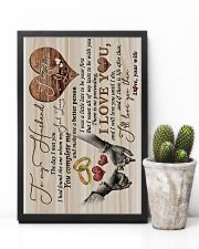 TO MY HUSBAND - HAND IN HAND - THE DAY I MET YOU 16x24 Poster lifestyle-poster-8