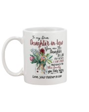 DAD TO DAUGHTER IN LAW Mug back