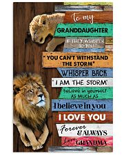 Grandma to Granddaughter - Poster 16x24 Poster front