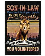 Son-in-law - Lion - You Volunteered - Poster Vertical Poster tile
