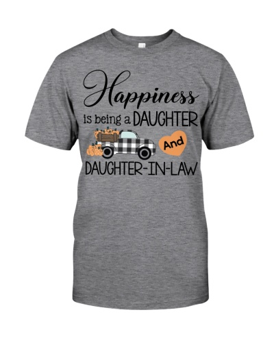 Hapiness is being a daughter and daughter-in-law