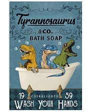POSTER - TO KIDS - T REX - WASH YOUR HANDS 16x24 Poster front