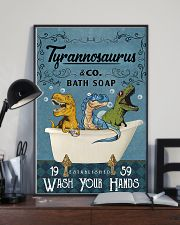 POSTER - TO KIDS - T REX - WASH YOUR HANDS 16x24 Poster lifestyle-poster-2
