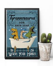 POSTER - TO KIDS - T REX - WASH YOUR HANDS 16x24 Poster lifestyle-poster-8