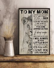 TO MY MOM - LION - YOU ARE APPRECIATED 16x24 Poster lifestyle-poster-3
