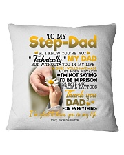 DAUGHTER TO BONUS DAD Square Pillowcase thumbnail