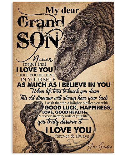 GRANDMA TO GRANDSON - LOOK INTO - MY DEAR
