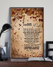 TO MY GORGEOUS WIFE 16x24 Poster lifestyle-poster-2