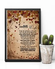 TO MY GORGEOUS WIFE 16x24 Poster lifestyle-poster-8