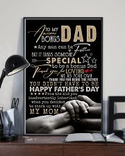 POSTER - TO STEP DAD - ANY MAN CAN BE A FATHER 16x24 Poster lifestyle-poster-2