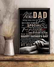 POSTER - TO STEP DAD - ANY MAN CAN BE A FATHER 16x24 Poster lifestyle-poster-3