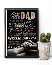 POSTER - TO STEP DAD - ANY MAN CAN BE A FATHER 16x24 Poster lifestyle-poster-8