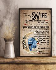 To Wife - Moon - Always Remember That I Love You 16x24 Poster lifestyle-poster-3