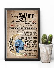 To Wife - Moon - Always Remember That I Love You 16x24 Poster lifestyle-poster-8