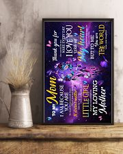To My Mom - You are the world - Poster 16x24 Poster lifestyle-poster-3