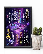 To My Mom - You are the world - Poster 16x24 Poster lifestyle-poster-8