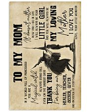 To My Mom - Halloween - Poster 16x24 Poster front