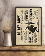 To My Mom - Halloween - Poster 16x24 Poster lifestyle-poster-3