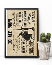 To My Mom - Halloween - Poster 16x24 Poster lifestyle-poster-8