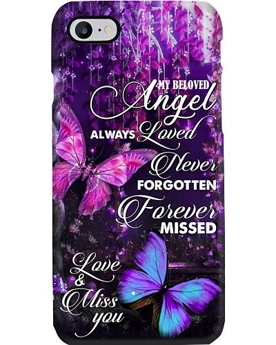MY BELOVED ANGEL - BUTTERFLY - MISS YOU