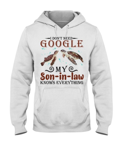 I don't need google my son-in-law knows everything