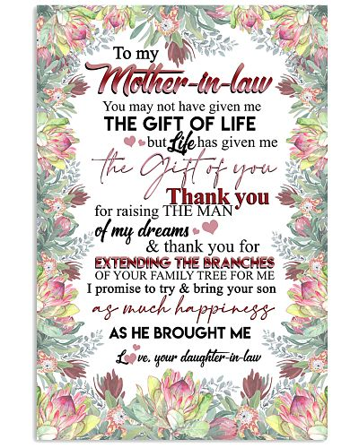TO MY MOTHER-IN-LAW - PROTEA