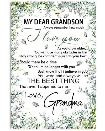My dear grandson