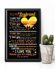 POSTER - TO MY BOYFRIEND - HEART - I LOVE YOU 16x24 Poster lifestyle-poster-8