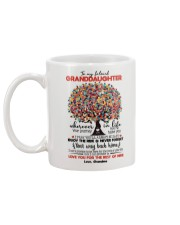 GRANDMA TO GRANDDAUGHTER Mug back