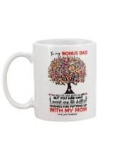DAUGHTER TO BONUS DAD Mug back
