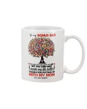 DAUGHTER TO BONUS DAD Mug front
