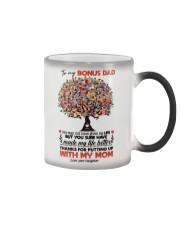 DAUGHTER TO BONUS DAD Color Changing Mug thumbnail