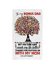 DAUGHTER TO BONUS DAD Hand Towel thumbnail