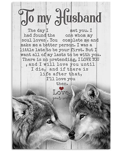 TO MY HUSBAND - WOLF - THE DAY I MET YOU