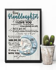 TO MY GRANDDAUGHTER - I LOVE YOU 16x24 Poster lifestyle-poster-8