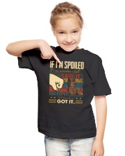 GRANDMA TO GRANDSON - SPOILED - GOT IT Youth T-Shirt lifestyle-youth-tshirt-front-2