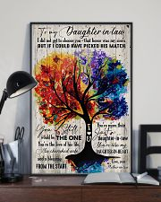 To My Daughter-in-law - Colorful Tree - The One  16x24 Poster lifestyle-poster-2